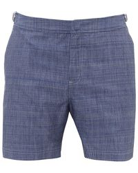 9435c003e11fc Orlebar Brown Bulldog Mid-length Swim Shorts in Gray for Men - Lyst