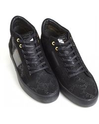 Android Homme - Propulsion Mid Trainers, Python Black Sneakers - Lyst