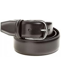 Andersons - Smooth Calk Black Leather Belt - Lyst