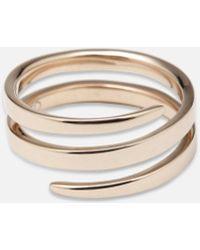 Anita Ko - Gold Coil Ring - Lyst