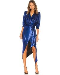 Zhivago - Picture This Dress In Blue - Lyst