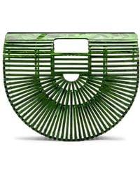 Cult Gaia - Small Acrylic Ark Bag In Green. - Lyst