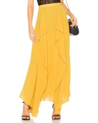 BCBGMAXAZRIA - Amalli Long Skirt - Lyst