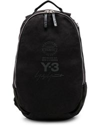 Y-3 Backpack in Black for Men - Lyst bc4ecce453