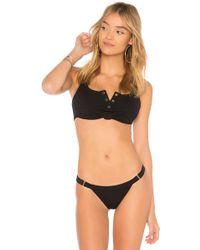 Beach Bunny - Rib Tide Bikini Top - Lyst