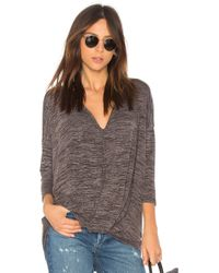 Bobi | Heather Knotted Sweater | Lyst