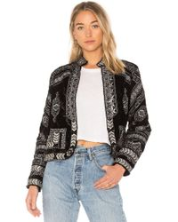 Raga - Lunar Eclipse Velour Jacket - Lyst
