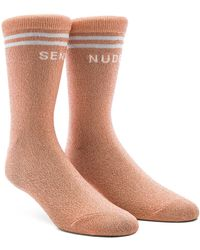 Mother - The Tiny Dancer Socks In Pink. - Lyst