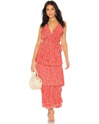 Cleobella - Darwin Maxi Dress In Red - Lyst