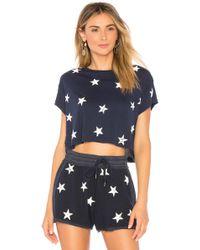 Splendid - T-Shirt Liberty - Lyst