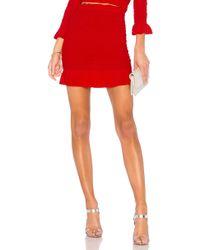 Lovers + Friends - X Revolve Monaco Skirt In Red - Lyst