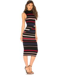 BCBGeneration - Colorblocked Striped Sweater Dress - Lyst