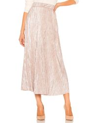 Free People - High Holiday Skirt In Rose - Lyst
