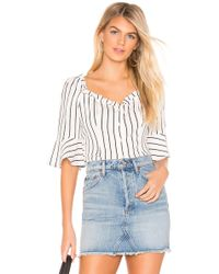 fc5a1f9d648645 Lyst - Boohoo Eliza Strappy Crop Top in White