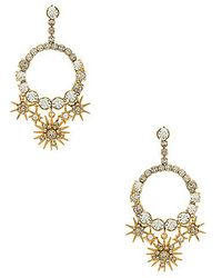 Elizabeth Cole - Bracken Earring In Metallic Gold. - Lyst