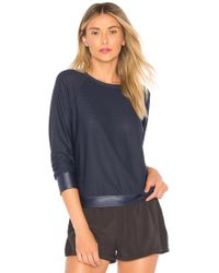 Koral - Sofia Pullover In Navy - Lyst