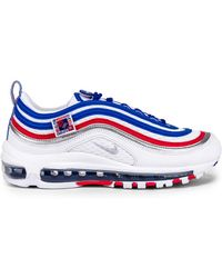 Lyst - Nike Women s Air Max 97 Ultra  17 Se Lace Up Sneakers in Blue a452b5828