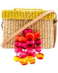 Nannacay | Roge Small Pompom Bag | Lyst