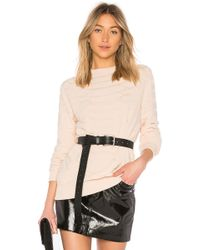 Baja East - Python Crew In Blush - Lyst