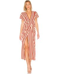 Amuse Society - Fit To Be Tied Dress - Lyst