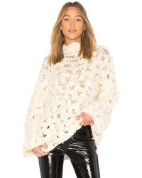 For Love & Lemons - Cloudy Day Popover Jumper - Lyst