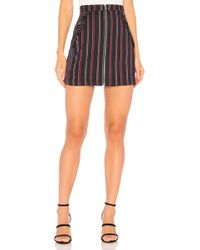 BCBGeneration - Ruffle Pocket Skirt In Navy - Lyst