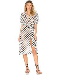 Lisa Marie Fernandez - Pouf Shirt Dress - Lyst