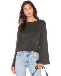 LNA - Bell Sleeve Sweater - Lyst