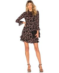 Rebecca Taylor - Long Sleeve Cheetah Dress - Lyst