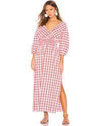 080a5444a862 Mara Hoffman - Nami Checked Organic Cotton Dress - Lyst