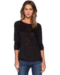 IRO - Marvina Tee Shirt In Black - Lyst