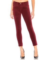 L'Agence - Margot High Rise Skinny - Lyst