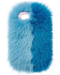 Charlotte Simone - Phone Fluff Faux Fur Iphone 7/8 Case - Lyst