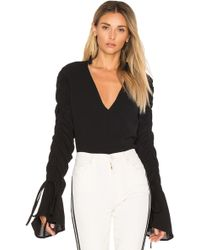 C/meo Collective - Right Kind Of Madness Top In Black - Lyst