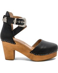 Free People - Andorra Clog In Black - Lyst