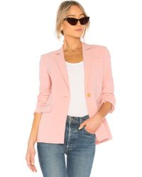 Elizabeth and James - Carson Single Breasted Blazer In Pink - Lyst
