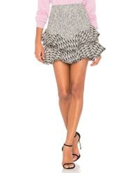 Rebecca Taylor | Mixed Tweed Skirt | Lyst