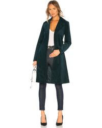 Theory - Oslo Cinched Trench In Dark Green - Lyst