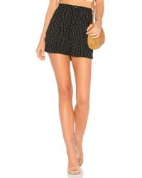 Free People - Magdalene Pleated Short In Black - Lyst