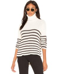 Faithfull The Brand - Erika Knit Sweater In White - Lyst