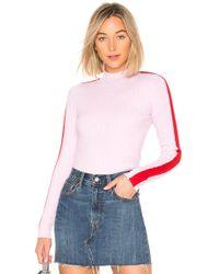 Lovers + Friends - Love Sweater In Pink - Lyst
