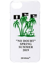 Off-White c/o Virgil Abloh - Funda para iphone 8 en color blanco - Lyst