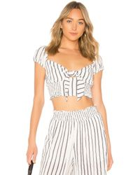 Likely - Faye Top In White - Lyst