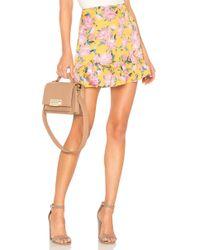 Lovers + Friends - Holden Skirt In Orange - Lyst
