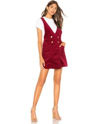 c04df7cf5c1 Free People - Canyonlands Cord Jumper In Wine - Lyst