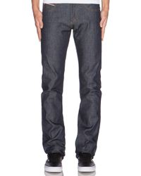 Naked & Famous - Skinny Guy Dirty Fade Selvedge Oz. - Lyst