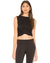 Free People - Movement Undertow Tank In Black - Lyst