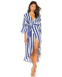 Kendall + Kylie - Wrap Dress - Lyst