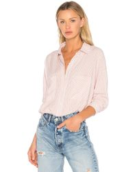 1.STATE - Patch Pocket High Low Blouse - Lyst