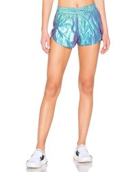Free People - Movement Wind Jammer Short In Blue - Lyst